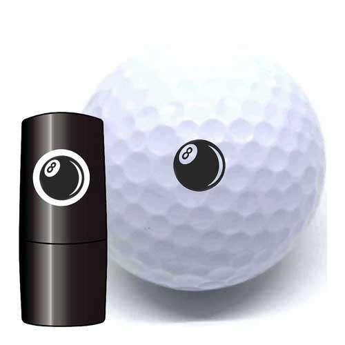 Golfbalstempels