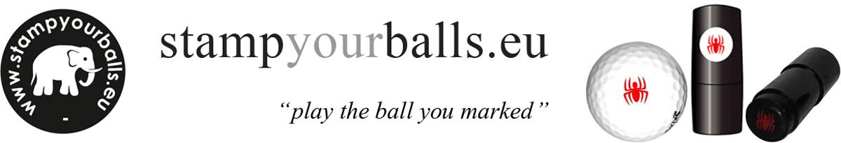 Stampyourballs.eu - Nooit meer de verkeerde golfbal spelen dankzij een eigen markering van uw golfbal door middel van de unieke Stampyourballs golfbalstempel. Simpel, effectief, makkelijk in gebruik en direct klaar.